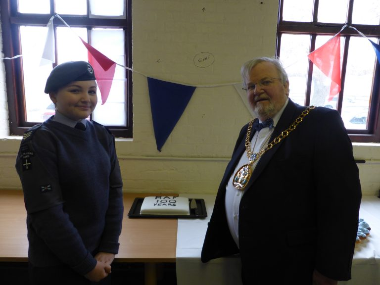 ATC Cadet & Mayor of Swale