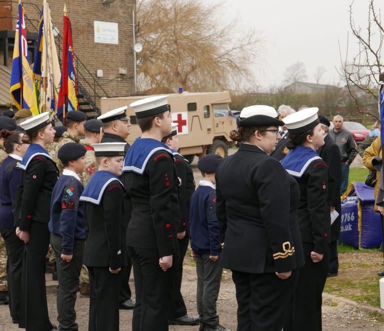 Navy cadets